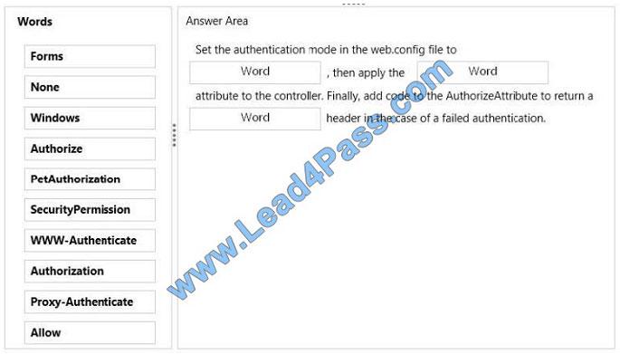 lead4pass 70-487 exam question q3