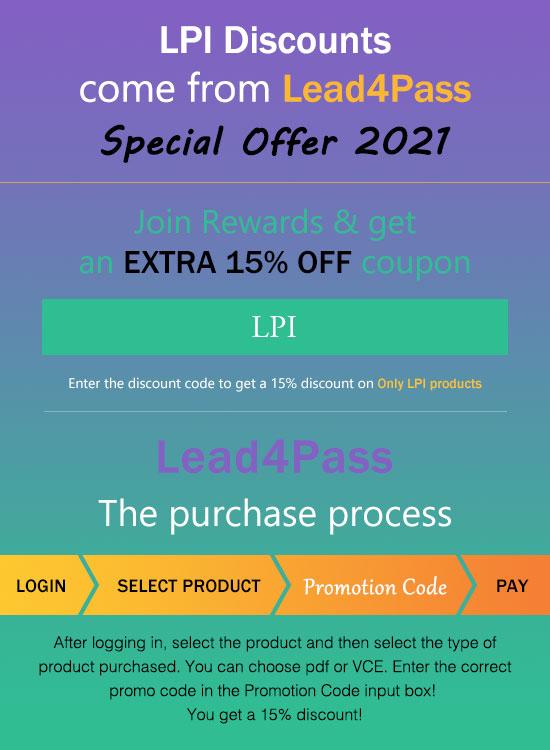lpi discount code
