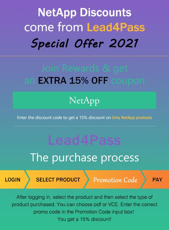 netapp discount code